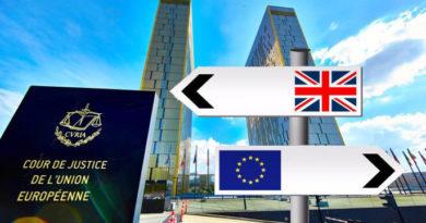 La Cour de justice de l'Union Européenne s'invite au BREXIT